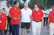 Senior Citizens Walk for Fun