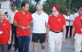 Senior Citizens Walk for Fun